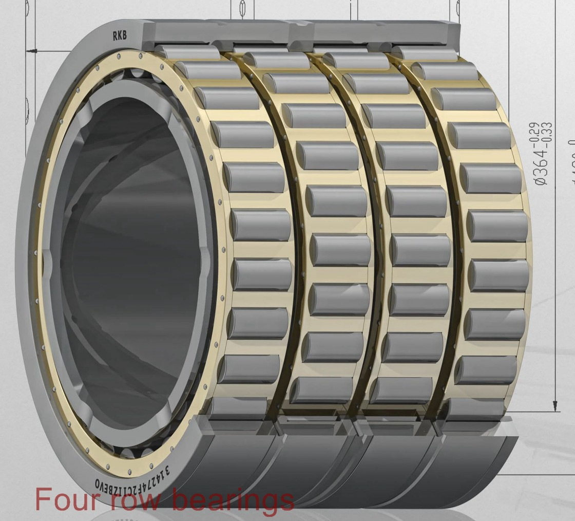 380TQO620-2 Four row bearings