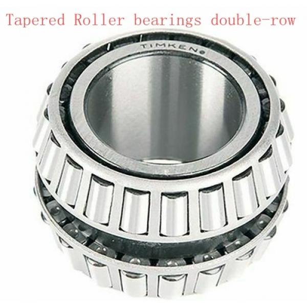 387 384ED Tapered Roller bearings double-row #4 image